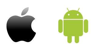 loghi apple e android