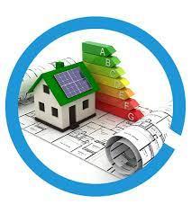 modello di casa su classificazione classe energetica